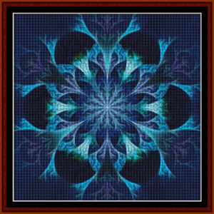 Fractal 451 (Small) cross stitch pattern by Cross Stitch Collectibles | Crafting | Cross-Stitch | Other