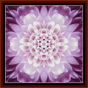 fractal 474 (small) cross stitch pattern by cross stitch collectibles