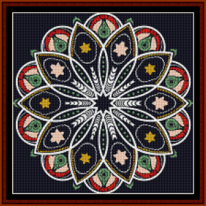 Fractal 513 (Small) cross stitch pattern by Cross Stitch Collectibles | Crafting | Cross-Stitch | Other