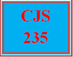 cjs 235 wk 1 - concept check