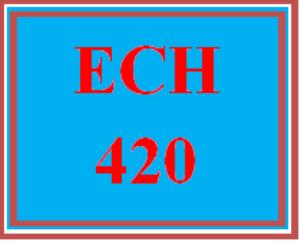ech 420 wk 2 team: team teacher evaluation: integrated science