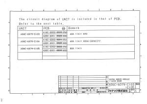 fanuc a06b-6079-h103, h104, h105 alpha svm1-40s, svm1-40l, svm1-80 (full schematic circuit diagram)