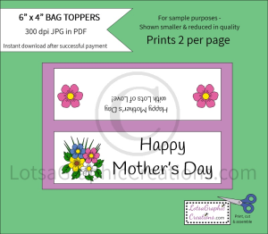 happy mother's day bag toppers 2