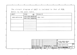 fanuc a06b-6079-h106 alpha svm1-130 (full schematic circuit diagram)