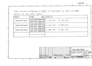 fanuc a06b-6079-h201, h202, h203 alpha svm2-12/12, svm2-12/20, svm2-20/20 (full schematic circuit diagram)