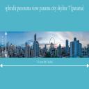 splendit panama city skyline 7 (2.5 x 0.5 m) Poster sent to Panama | Photos and Images | Travel