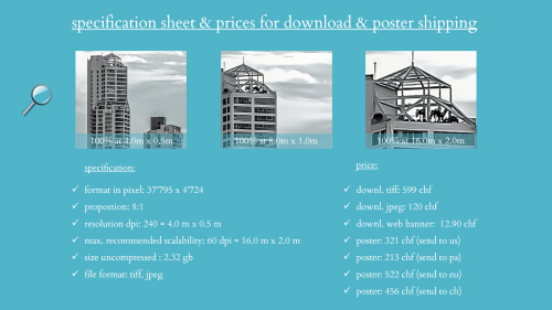First Additional product image for - splendit panama city skyline 5 (4.0 x 0.5 m) Poster sent to Panama