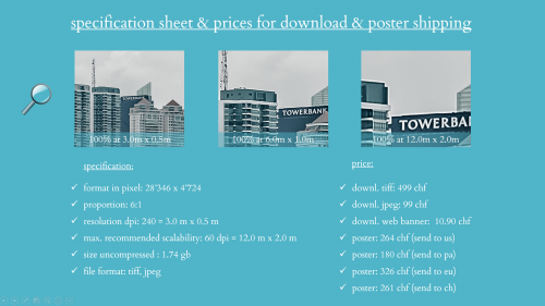 First Additional product image for - splendit panama city skyline 4 (3.0 x 0.5 m) jpeg web size