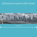 splendit panama city skyline 3 (3.0 x 0.5 m) Poster sent to USA | Photos and Images | Travel
