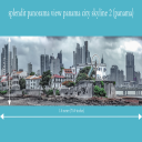 splendit panama city skyline 2 (1.8 x 0.5 m) Poster sent to Switzerland   Photos and Images   Travel