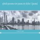 splendit panama city skyline 1 (2.0 x 0.55 m) Poster sent to USA | Photos and Images | Travel