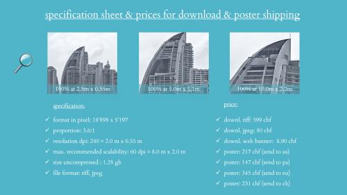First Additional product image for - splendit panama city skyline 1 (2.0 x 0.55 m) tiff original size