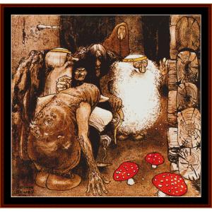 Troll Folk – John Bauer cross stitch pattern by Cross Stitch Collectibles | Crafting | Cross-Stitch | Other
