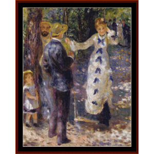 The Swing cross stitch pattern by Cross Stitch Collectibles | Crafting | Cross-Stitch | Other