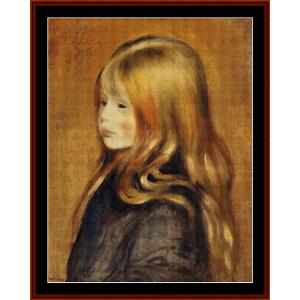 portrait of edmund cross stitch pattern by cross stitch collectibles