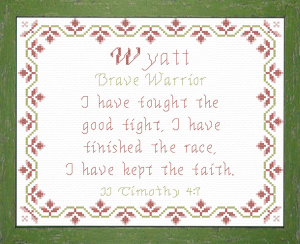 name blessings - wyatt 3