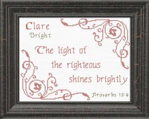 name blessings - clara 2