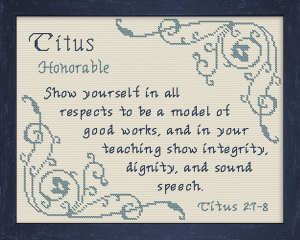 name blessings - titus 3