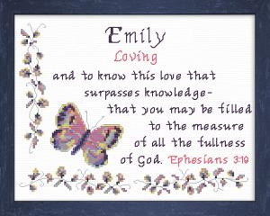 name blessings - emily 4