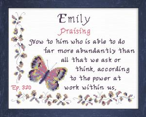 name blessings - emily 5
