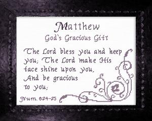 name blessings - matthew 5