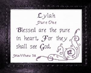 name blessings - lylah