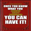 Once You Know What You Want You Can Have It   Audio Books   Self-help