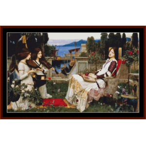 St. Cecilia cross stitch pattern by Cross Stitch Collectibles | Crafting | Cross-Stitch | Other