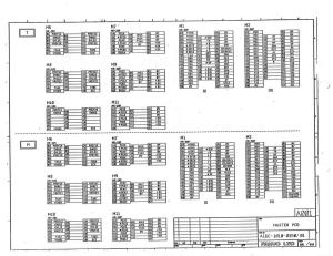 fanuc 0, 00 series model a master board a16b-1010-0150 (full schematic circuit diagram)
