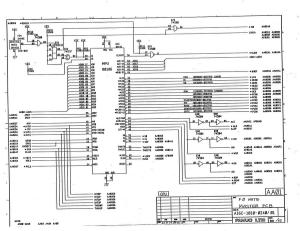fanuc 0 mate series model a master board a16b-1010-0240 (full schematic circuit diagram)