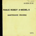 FANUC Robot A - Model 0 Maintenance Drawing (Full Schematic Circuit Diagram) | Documents and Forms | Manuals