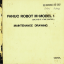FANUC Robot M - Model 1 Maintenance Drawing (Full Schematic Circuit Diagram)   Documents and Forms   Manuals