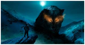 fenrir | viking inspired digital art