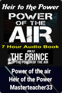 you are the heir of the power of the air
