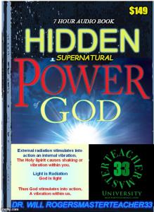 hidden supernatural power of god