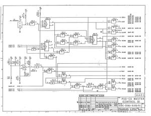 fanuc a20b-2000-0180 fs0c 32bit master board control b (full schematic circuit diagram)