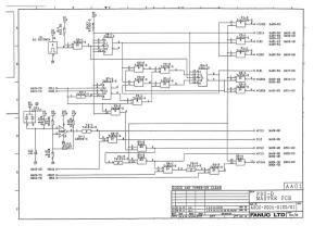 fanuc a20b-2001-0120 fs0d master board (full schematic circuit diagram)