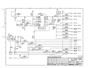 fanuc a20b-2002-0650, 0651 fs0c, fs0d master board control a (full schematic circuit diagram)