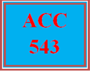 acc 543 wk 2 - apply: signature assignment: net present value and internal rate of return