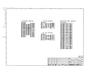 fanuc a16b-2200-0350/03 fs0c, fs0d graphic card version 03 (full schematic circuit diagram)