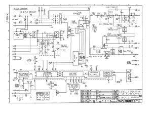 fanuc a16b-1212-0100 ed_09 fs0c, fs0d power unit (full schematic circuit diagram)