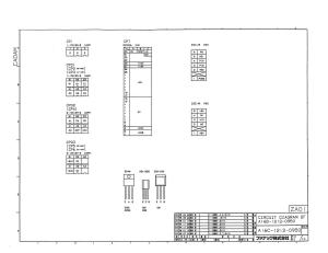 fanuc a16b-1212-0950 ed_10 fs0c, fs0d power unit (full schematic circuit diagram)