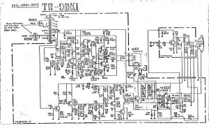 "fanuc crt a61l-0001-0072 monochrome 9"" monitor (full schematic circuit diagram)"