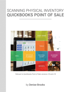 physical inventory in quickbooks point of sale