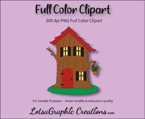 Gnome OR Fairy House Clipart | Photos and Images | Clip Art