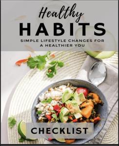 Healthy Habits Checklist ebook | eBooks | Health