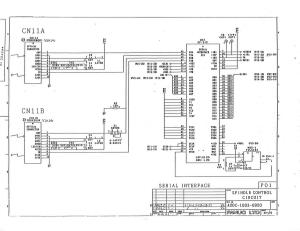 fanuc a20b-1003-0920 ed_03 spindle drive a06b-6059-hxxx and/or a06b-6063-hxxx control board (full schematic circuit diagram)