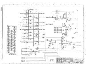 fanuc a16b-1100-0200 ed_11 spindle drive a06b-6059-hxxx control board (full schematic circuit diagram)