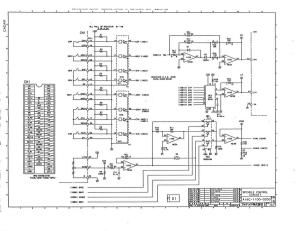 fanuc a16b-1100-0200 ed_15 spindle drive a06b-6059-hxxx control board (full schematic circuit diagram)