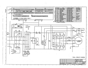 fanuc a06b-6059-hxxx and/or a06b-6063-hxxx spindle drive base unit (full schematic circuit diagram)